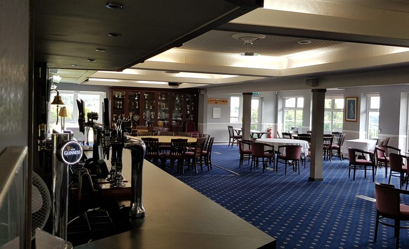 Outlane Golf Club Clubhouse